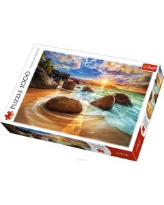 Trefl Puzzle Slagalica Samudra Beach India 1000 kom