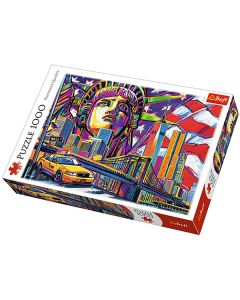 Trefl Puzzle Slagalica Colours of New York 1000 kom