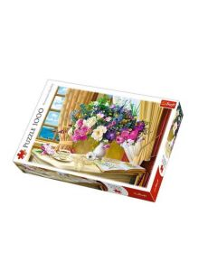Trefl Puzzle Slagalica Flowers in the morning 1000 kom