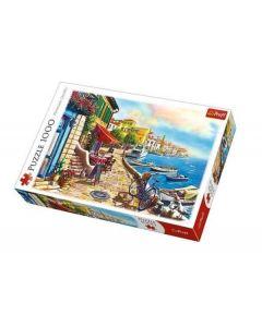 Trefl Puzzle Slagalica Sunny embankment 1000 kom