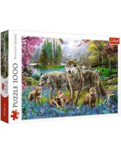 Trefl Puzzle Slagalica Lupine family 1000 kom