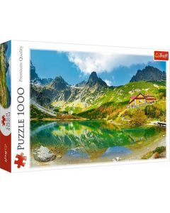 Trefl Puzzla  Shelter over the Green Pond Tatras Slovakia