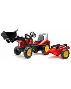 Traktor Supercharger Crveni