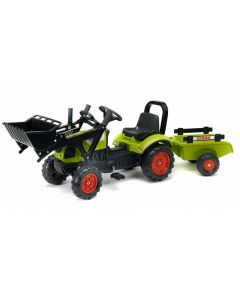 Traktor sa prikolicom i utovarivačem Falk Claas 2040am