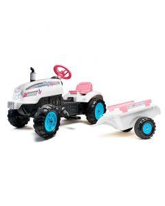 Traktor sa prikolicom Falk Princess