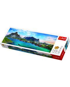 Trefl Puzzle Slagalica Panorama Lofoten Archipelago Norway 500 kom