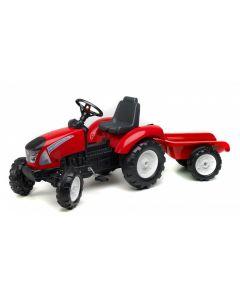 Falk Traktor na pedale za decu crveni