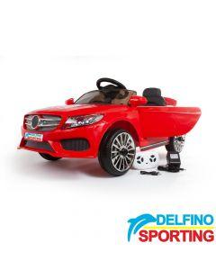 Auto na akumulator Delfino Sporting MM Crveni