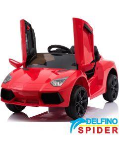 Auto na akumulator Delfino Spider Crveni