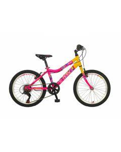 BICIKL POLAR SENECA pink-yellow