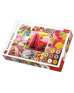 Trefl puzzla Candy collage 1000kom