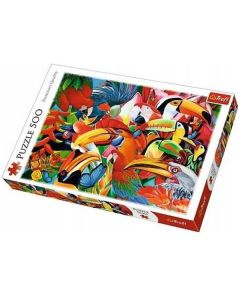 Trefl puzzla Colourfull Birds