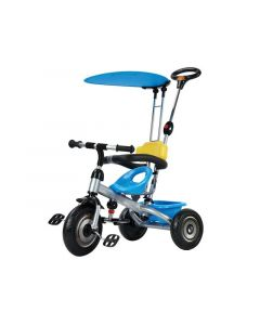 Dečiji tricikl sa suncobranom plavi