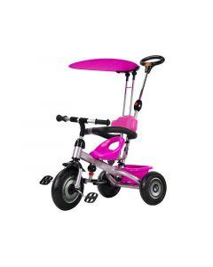 Dečiji tricikl sa suncobranom pink