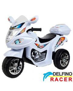 Motor na akumulator Delfino Racer Beli