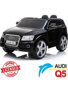 Džip na akumulator Audi Q5 - Licencirani model crni