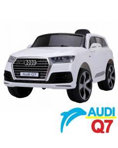 Džip na akumulator Audi Q7 - Licencirani model beli