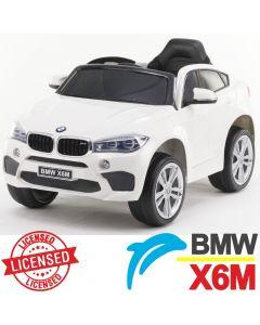 Džip na akumulator BMW X6M - Licencirani model beli