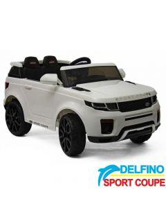 Džip na akumulator Delfino Sport Coupe Beli
