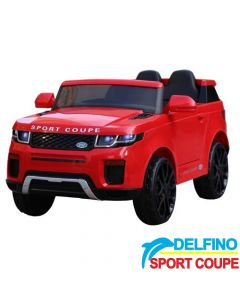 Džip na akumulator Delfino Sport Coupe Crveni