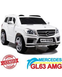Džip na akumulator Mercedes GL63 AMG - Licencirani model beli