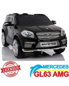 Džip na akumulator Mercedes GL63 AMG - Licencirani model crni