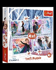 "Trefl Puzzle Slagalica ""4in1"" Frozen II"