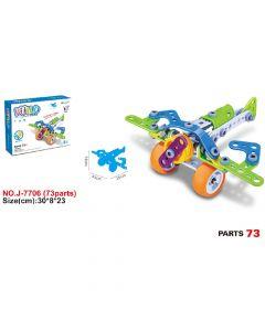 Hoogar Kids Igračka Building Blocks Avion J-7706
