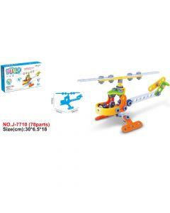 Hoogar Kids Igračka Building Blocks Helikopter J-7710