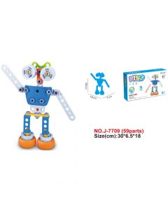 Hoogar Kids Igračka Building Blocks Hoos Robot J-7709