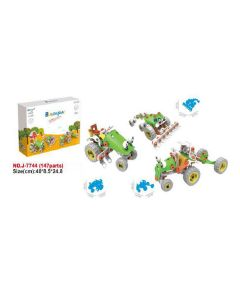 Hoogar Kids Igračka Building Blocks Set 3u1 Vozila farme J-7744