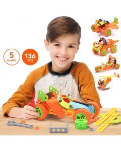 Hoogar Kids Igračka Building Blocks Set 5u1 J-7742