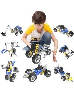 Hoogar Kids Igračka Building Blocks Vozila Set 5u1 J-7781
