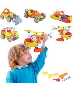 Hoogar Kids Igračka Edukativni građevinski set 5u1 J-108