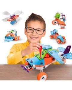 Hoogar Kids Igračka Edukativni građevinski set 5u1 J-201