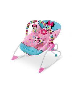 KIDS II Disney Baby Lezaljka Minnie Mouse - PeekABoo Rocker