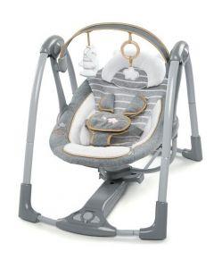 KIDS II Ingenuity Ljuljaska Boutique Collection Swing 'n Go Portable - Bella Teddy