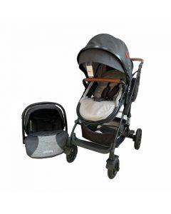 Kolica za bebe G2 2u1 Black Grey