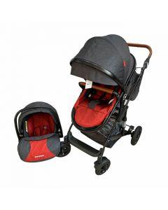 Kolica za bebe G2 2u1 Black Red