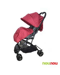 Kolica za bebe Via crvena
