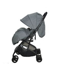 Kolica za bebe Via siva