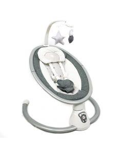 Kikka Boo Ljuljaška TWIDDLE sa adapterom i daljinskim upravljačem grey