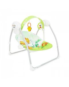 Ljuljaška za bebe Cangaroo party green