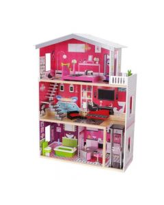 Kuća za lutke Isabella sa nameštajem