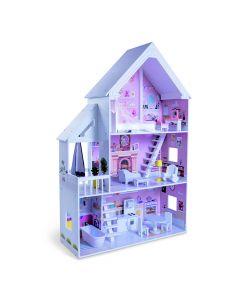 Kuća za lutke Cinderella sa nameštajem