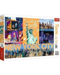 Trefl Puzzle Funny Cities - Neon City 1000kom