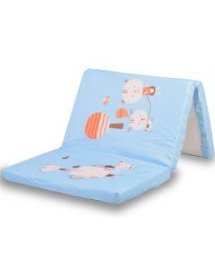 Podloga za prenosivi krevetić Plava