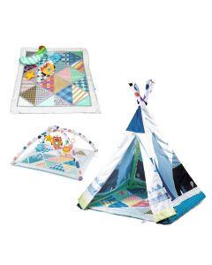 Kikka Boo Podloga za igru šator 2in1 Adventure boy