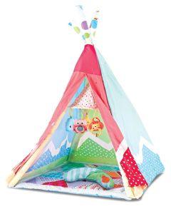 Kikka Boo Podloga za igru šator 2in1 Adventure girl