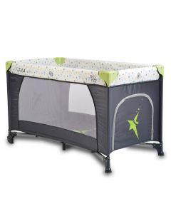 Prenosivi krevetić II nivoa Star Duo Green